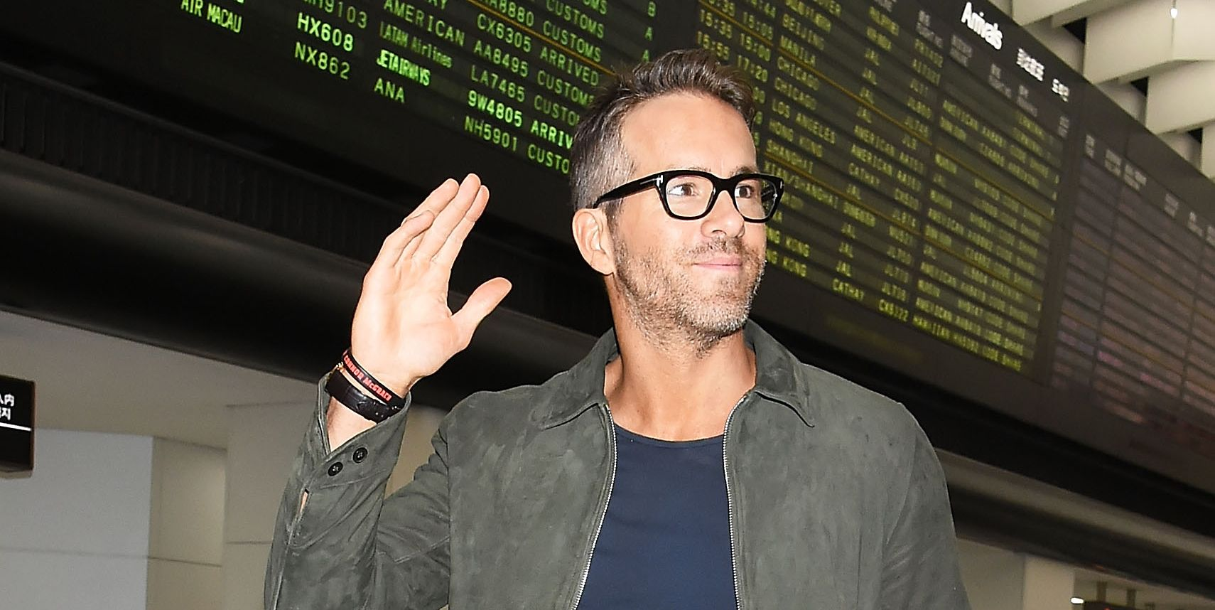 Ryan Reynolds Is The New King Of Airport Style