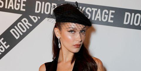 Bella Hadid Dior Backstage Launch Party 2018