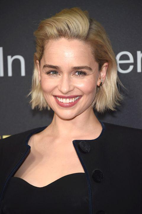 Emilia Clarke brows