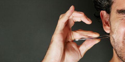 ingrown hair removal video