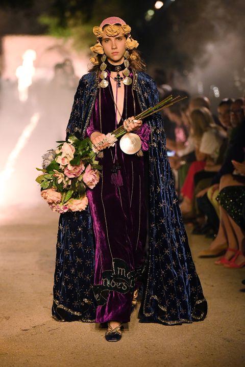 Fashion, Runway, Fashion show, Fashion design, Event, Tradition, Haute couture, Costume design, Performance, Fashion model,