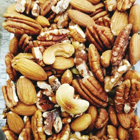 Full Frame Shot Of Various Nuts