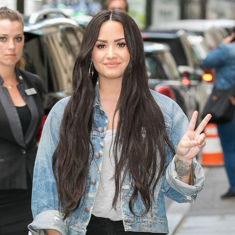 a891288f6 Demi Lovato Got the Most Meaningful Tiny Finger Tattoo