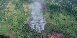 kilaeua volcano eruption 2018 overhead