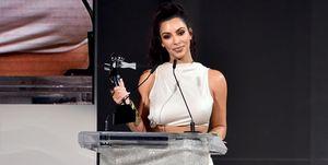 2018 CFDA Fashion Awards -- Kim Kardashian