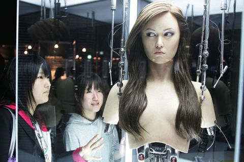 Terminator Exhibition - Battle or Coexistence ? Robots and Our Future' in Tokyo.