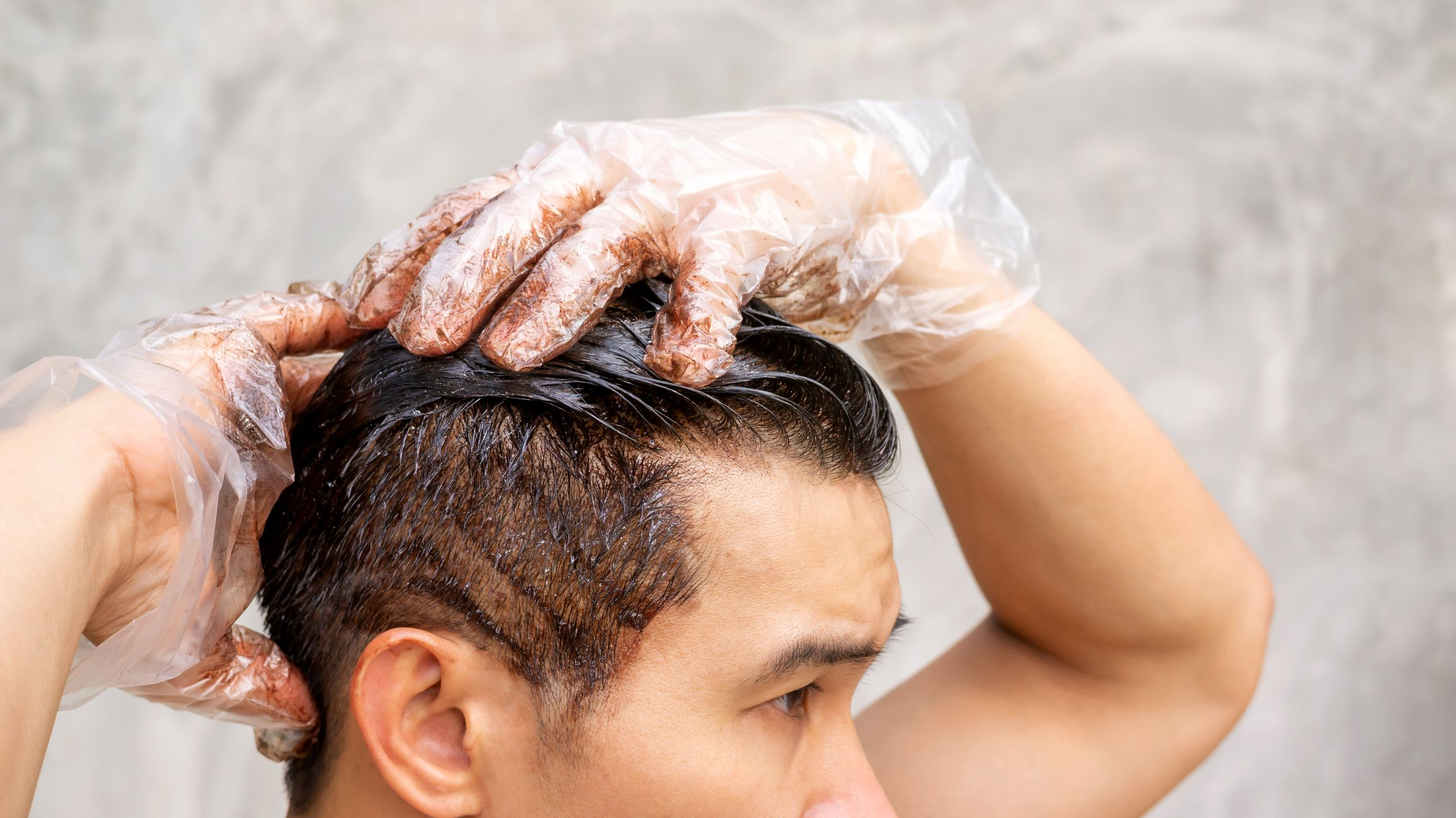 How To Dye Your Hair At Home Men S Hair Color Tips