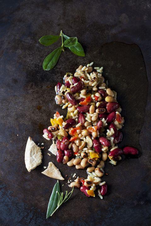 Food, Cuisine, Dish, Ingredient, Vegetarian food, Produce, Recipe, Plant, Pomegranate, Farro,