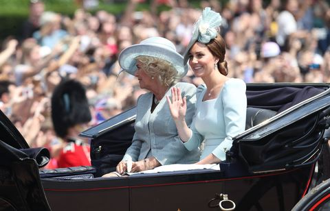 Trooping the Colour parade 2018 Meghan Markle