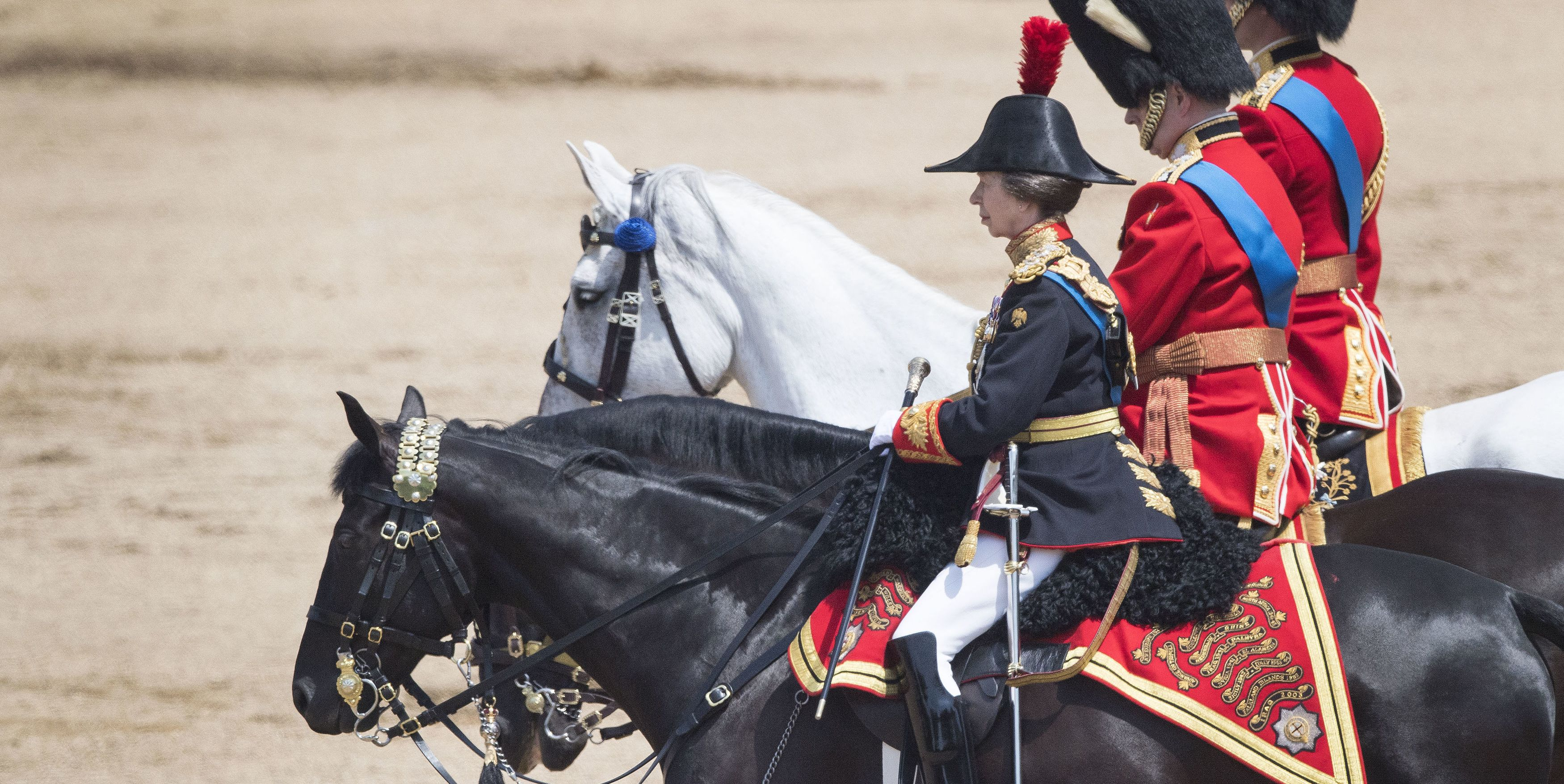 Trooping the Colour princess anne