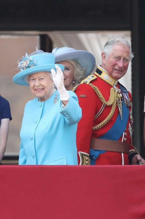 Trooping the Colour parade 2018
