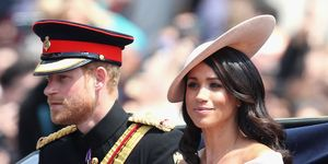 Meghan Markle and Prince Harry at Trooping the Colour