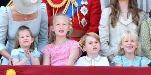 Trooping the Color, Prince George, Princess Charlotte