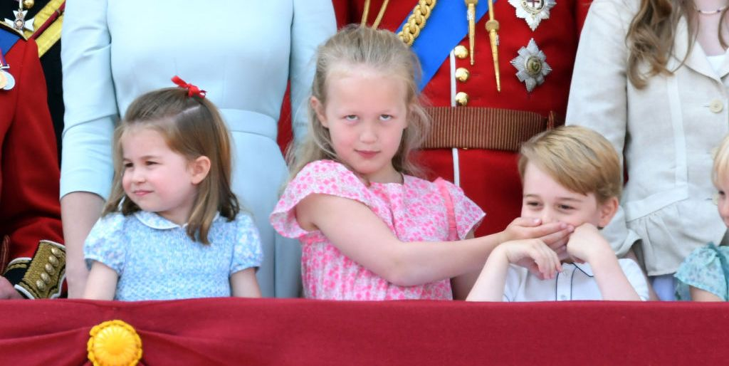 Kate Middleton, Prince William, Prince George, Princess Charlotte at Trooping the Colour 2018