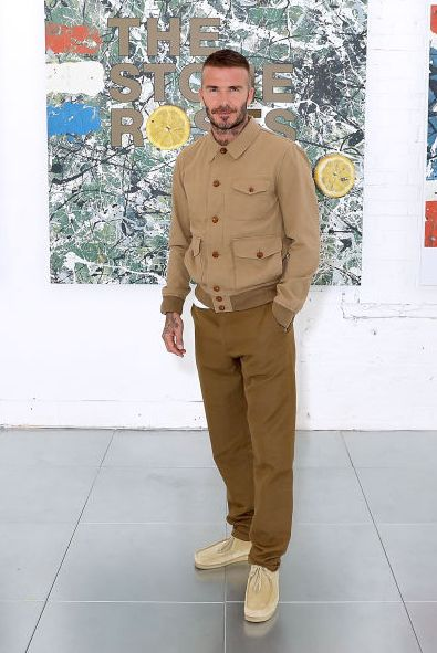 london, england   june 10  david beckham attends the kent  curwen show during london fashion week mens june 2018 at 11 floral street on june 10, 2018 in london, england  photo by darren gerrishdarren gerrishwireimage