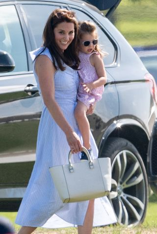 31931e873bb Kate Middleton just wore a £40 Zara summer dress to the polo