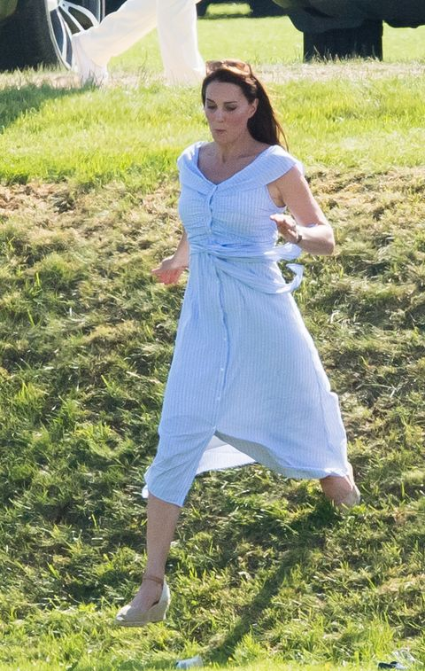 64dd8e1c Kate Middleton just wore a £40 Zara summer dress to the polo