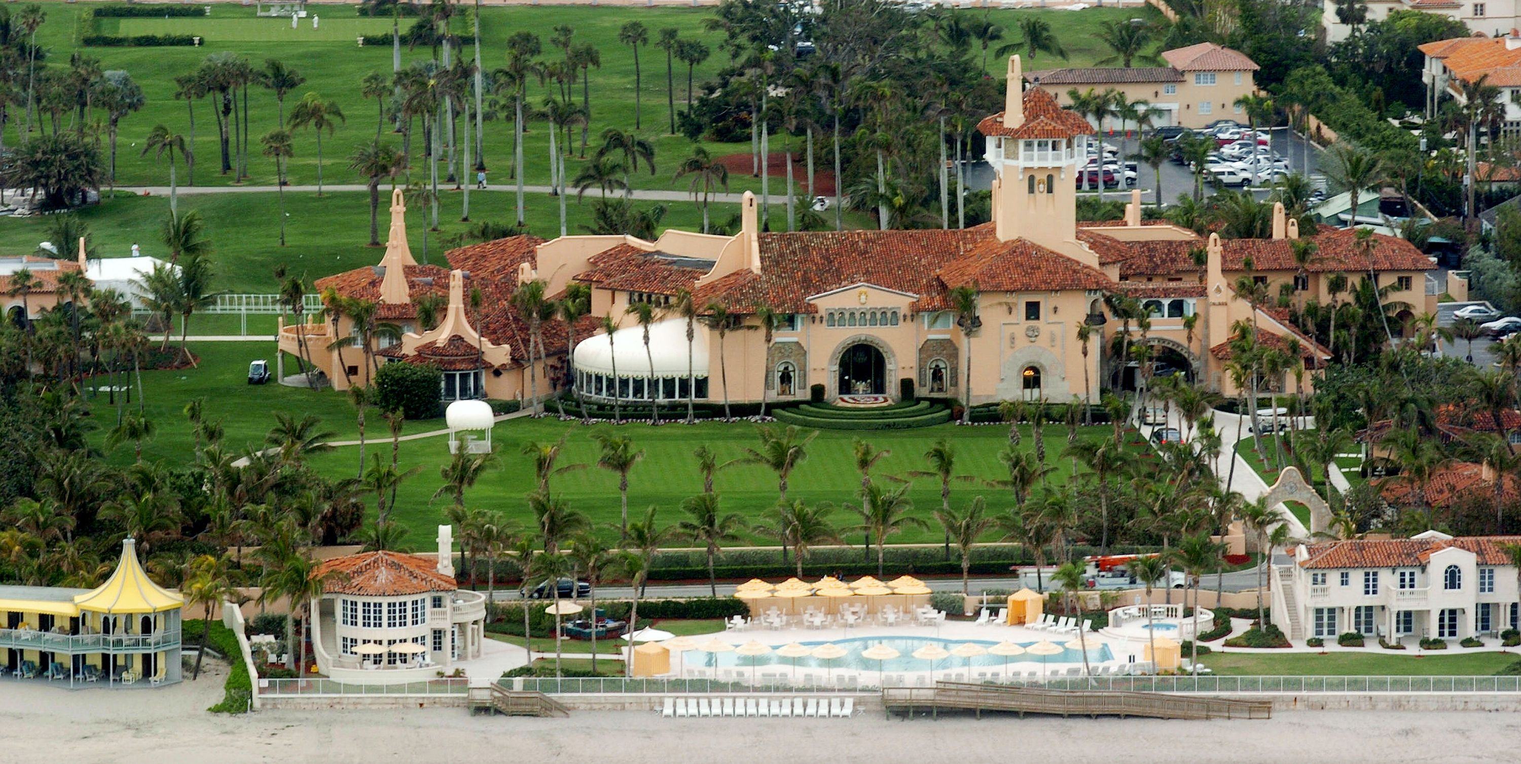 Mar-a-Lago Aerial Photo