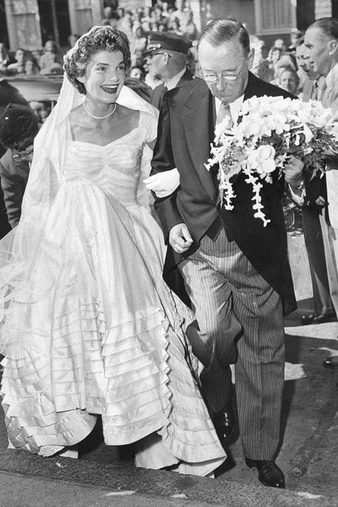 Jackie Kennedy Wedding to JFK