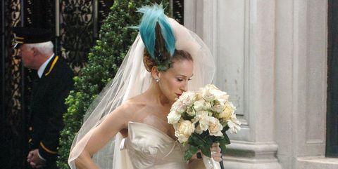 Carrie Bradshaw Vivienne Westwood Wedding Dress