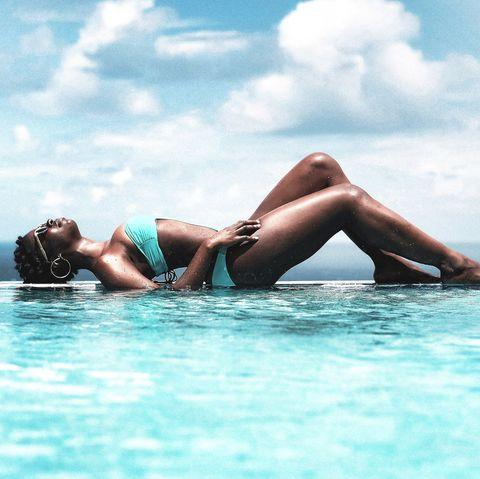 Water, Sky, Vacation, Aqua, Sea, Sun tanning, Beauty, Fun, Leisure, Summer,