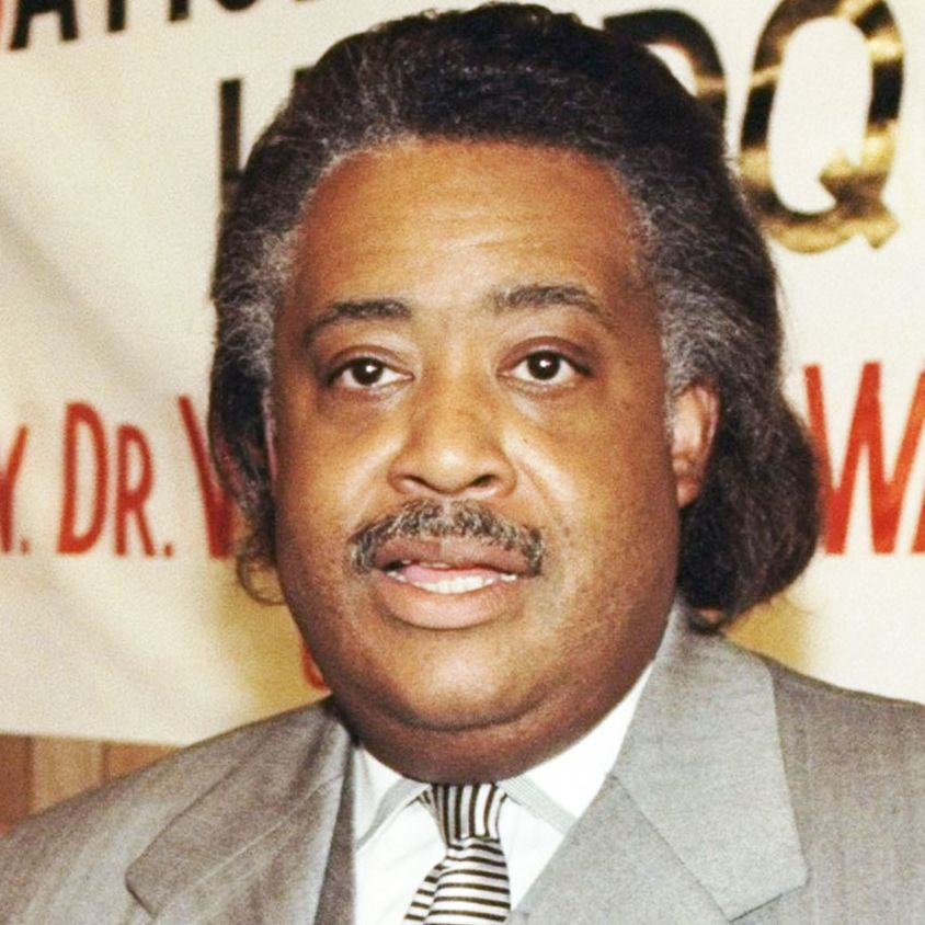The civil rights activist and minister's weight fluctuations have always been closely watched, but one thing that hasn't changed is his trusty mustache.