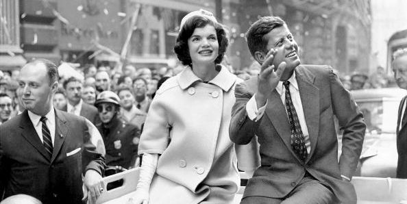 jfk and jackie kennedy nyc parade