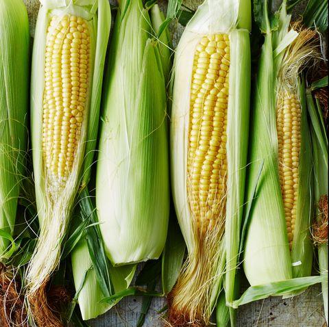 Corn on the cob, Vegetable, Sweet corn, Corn, Corn on the cob, Food, Vegetarian food, Natural foods, Plant, Produce,