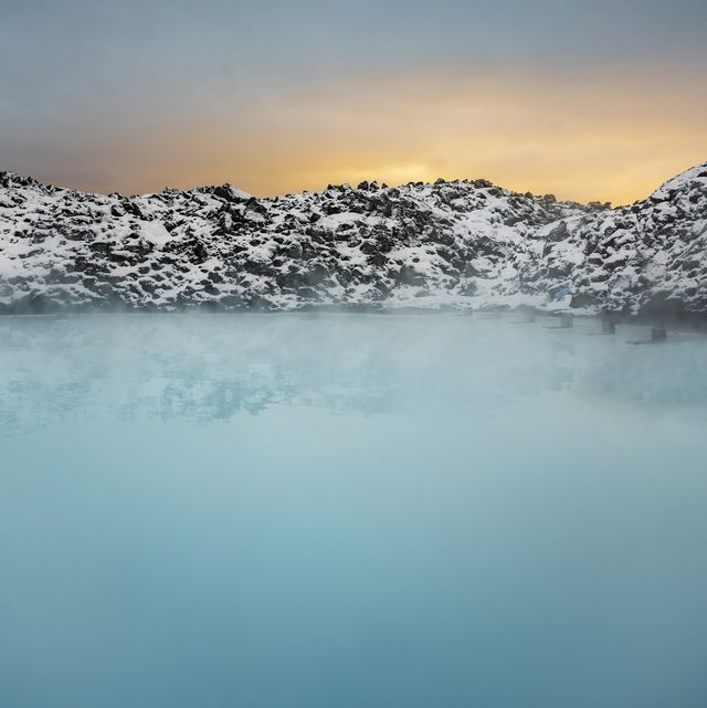 Geothermal Hot Springs, Blue Lagoon, Iceland