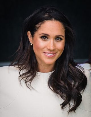 meghan markle revealed the secret to achieving her poker straight hair secret to achieving her poker straight hair