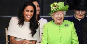 Duchess Meghan Queen Elizabeth Cheshire