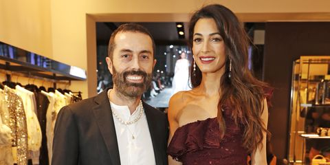 Amal Clooney Private Dinner Hosted By Edward Enninful In Honour