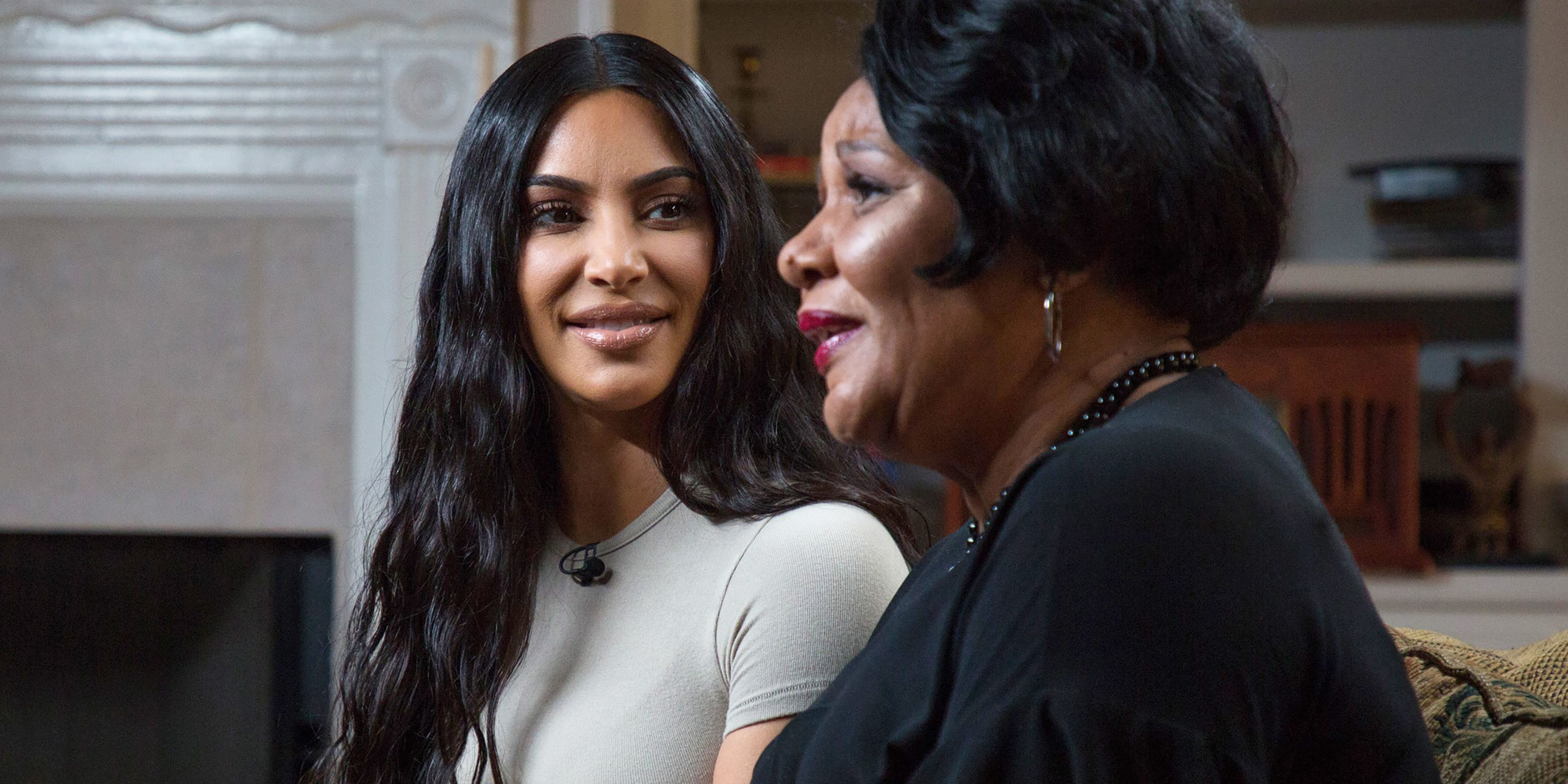 Kim Kardashian Alice Marie Johnson