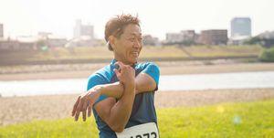 atleta, japones, 102 años, carrera, 100 metros, 28 segundos