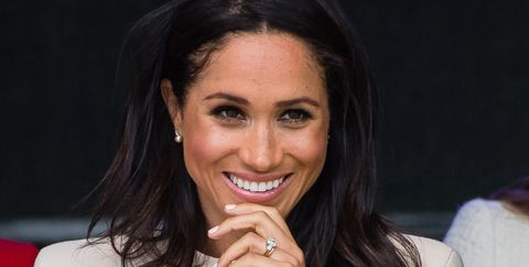 Meghan Markle's Cheshire Outfit Featured a Stunning Gift From The Queen