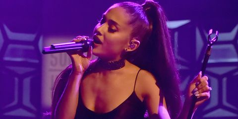 Ariana Grande Flashes Her Engagement Ring