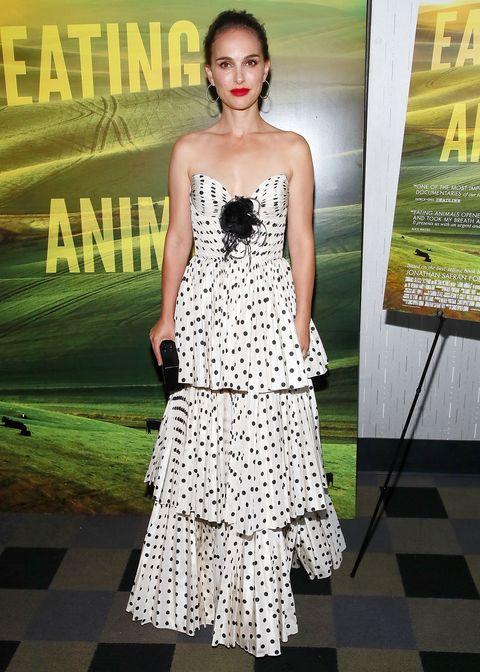 Natalie Portman mui mui dress