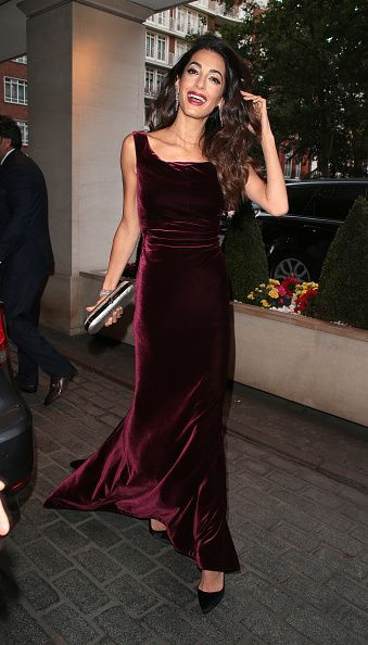 Amal Clooney best looks: style file