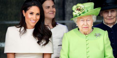 Duchess Meghan Queen Elizabeth