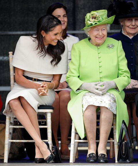 megha markle queen elizabeth