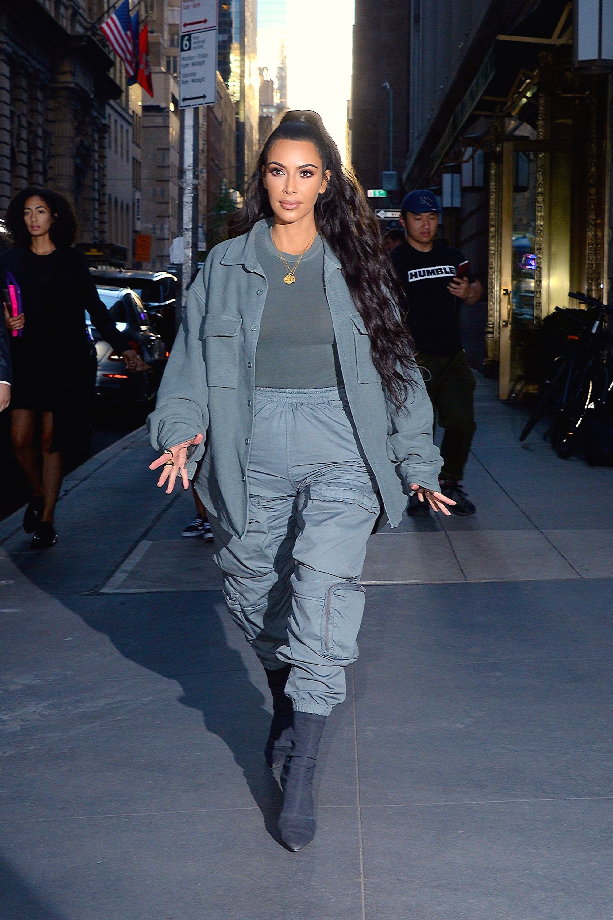 834e507770bcd Kim Kardashian Stars In The Latest Yeezy Campaign Nothing But