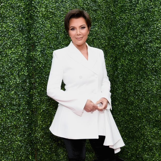 santa monica, ca   june 16 tv personality kris jenner attends the 2018 mtv movie and tv awards at barker hangar on june 16, 2018 in santa monica, california  photo by emma mcintyregetty images for mtv