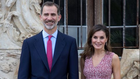 The King And Queen Of Spain Visit San Antonio, TX