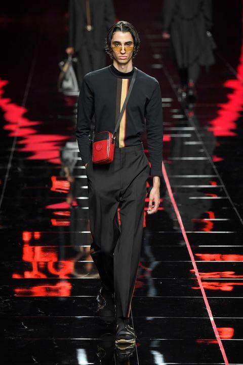 Fashion, Fashion model, Runway, Suit, Fashion show, Formal wear, Haute couture, Public event, Event, Tuxedo,