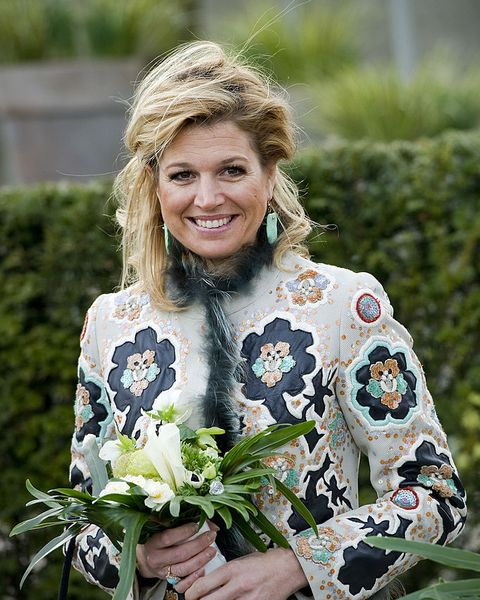 lisse, netherlands   march 17 dutch princess maxima attends the opening of the keukenhof on march 17, 2010 in lisse, netherlands photo by getty images