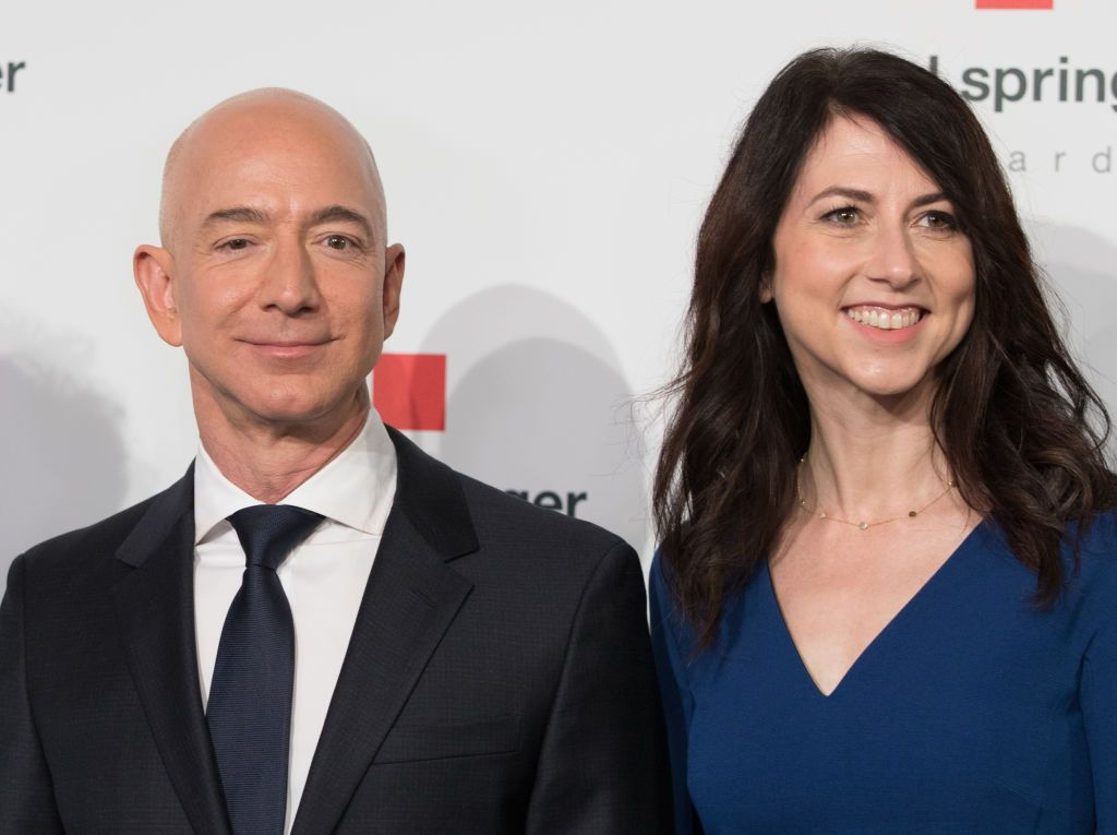Jeff Bezos and His Wife Mackenzie's Divorce Settlement and
