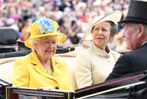 The Queen at Royal Ascot 2018