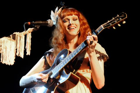 Model Musicians Models in Bands Karen Elson