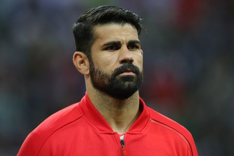 Diego Costa haircut world cup 2018