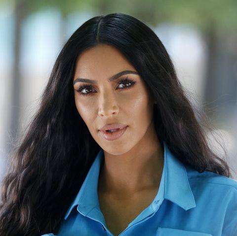 Kim Kardashian Tries a Smoothie For Her Psoriasis